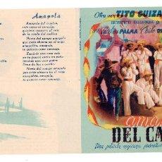 Cine: AMAPOLA DEL CAMINO, CON TITO GUIZAR. Lote 113116367