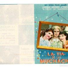 Cine: LA TIA DE LAS MUCHACHAS PROGRAMA DOBLE REY SORIA. Lote 113119147