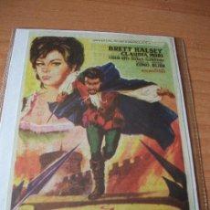 PROGRAMA DE MANO - CINE EL MAGNIFICO AVENTURERO 1968 PDELUXE