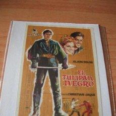 Cine: PROGRAMA DE MANO - CINE EL TULIPAN NEGRO 1967 PDELUXE. Lote 113162291