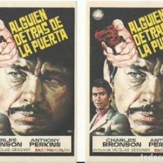 Cine: ALGUIEN DETRAS DE LA PUERTA.. Lote 113192659
