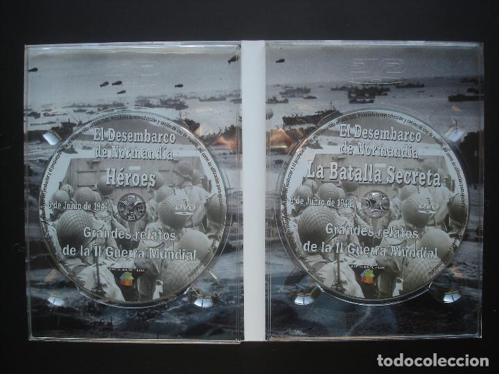 Cine: El dia D. Héroes - La batalla secreta. Grandes relatos de la II Guerra Mundial - Foto 3 - 113228083