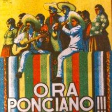 Cine: ORA PONCIANO- DOBLE- PUBLI RIO CINEMA (FIGUERAS). Lote 113237711