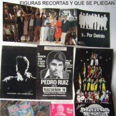 Cine: 32 PROGRAMAS DE TEATRO Y REVISTA, (ALGUNOS TROQUELADOS). AÑOS 70 Y 80.. Lote 113340443