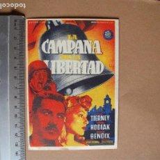 Cine: CAMPANAS DE LA LIBERTAD - 1947 . Lote 113381847