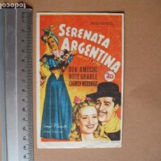 Cine: SERENATA ARGENTINA. Lote 113382731
