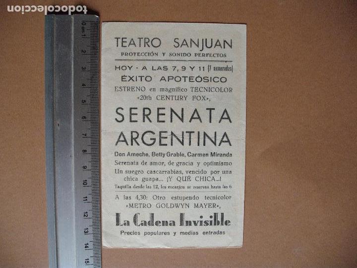 Cine: SERENATA ARGENTINA - Foto 2 - 113382731