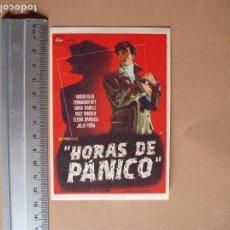 Cine: HORAS DE PANICO - 1960 - MUY BUENO. Lote 113383055