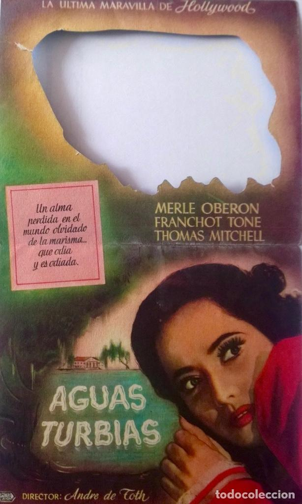 Cine: AGUAS TURBIAS- DOBLE TROQUELADO - Foto 2 - 113412111