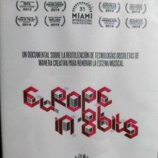 Cine: EUROPE IN 8 BITS. DOCUMENTAL EN DVD. EN CASTELLANO. NUEVO, PRECINTADO.. Lote 113533795