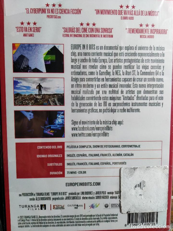 Cine: EUROPE IN 8 BITS. DOCUMENTAL EN DVD. EN CASTELLANO. NUEVO, PRECINTADO. - Foto 2 - 113533795