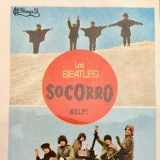 Cine: SOCORRO (HELP) LOS BEATLES- IMPECABLE. Lote 113567331