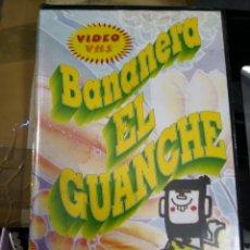 Cine: VIDEO VHS AÑO 1995 BANANERA EL GUANCHE MÁS LIBRO DE REGALO. Lote 113629427