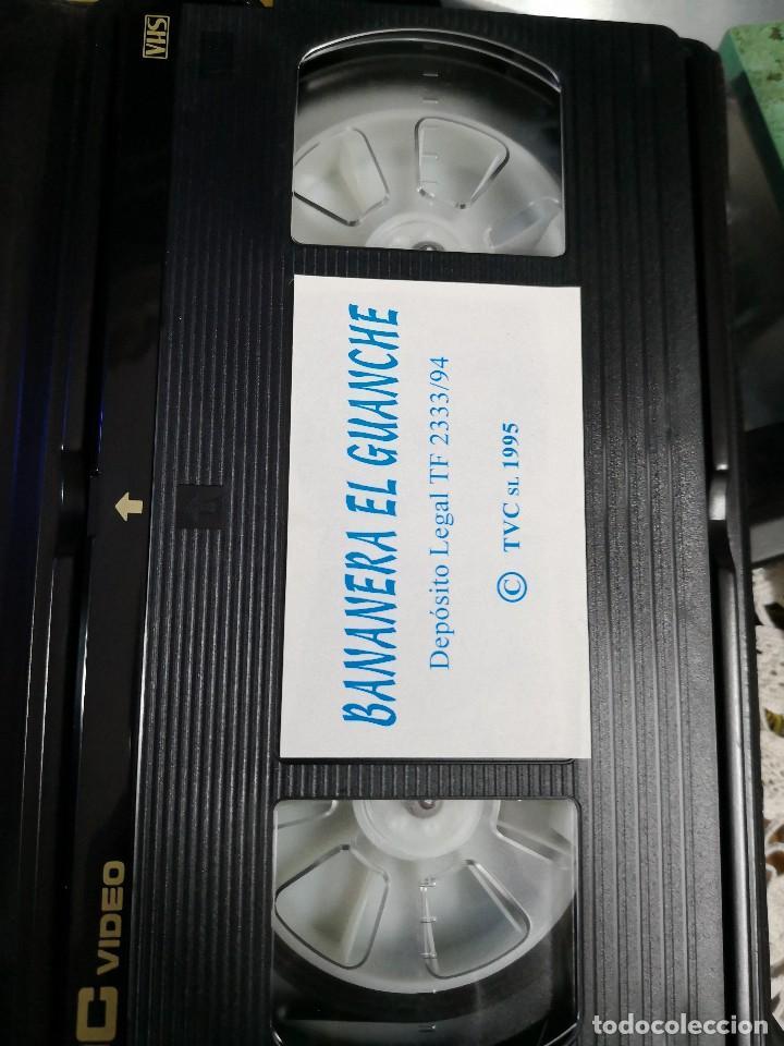 Cine: Video VHS AÑO 1995 BANANERA EL Guanche más libro de regalo - Foto 3 - 113629427