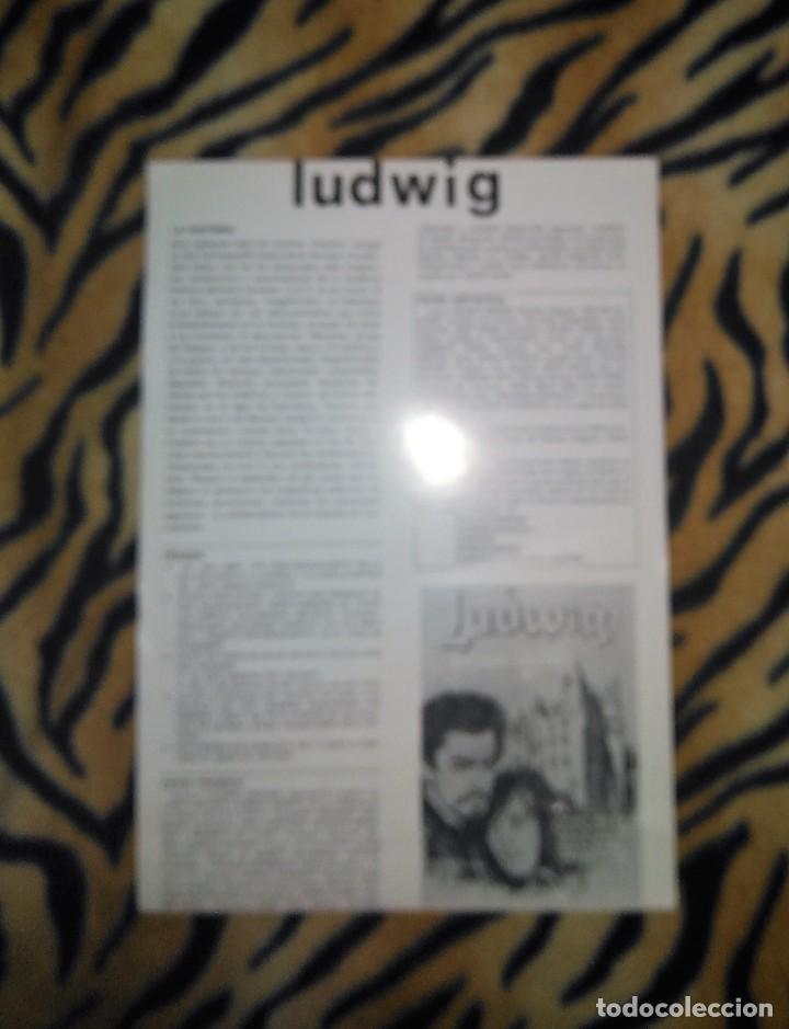 Cine: Cartel de mano cine 21x31cm Ludwig Luchino Vischonti - Foto 2 - 113645167