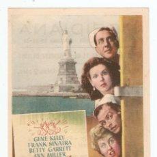 Cine: UN DÍA EN NUEVA YORK - GENE KELLY, FRANK SINATRA, BETTY GARRETT, ANN MILLER - METRO GOLDWYN MAYER. Lote 113712067