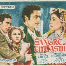 Cine: SANGRE EN CASTILLA. Lote 113720247