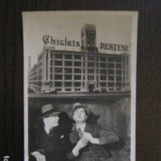 Cine: EL GRAN CHARCO-PROGRAMA CINE COLISEUM- CHEVALIER -PUBLICIDAD CHICLETS ADAMS -VER FOTOS - (C-4.119). Lote 113834191