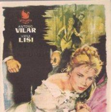 Cine: 5 FOLLETOS DE MANO - CINE REX ZARAGOZA - KITTY, HABANERA, LA CUCARACHA + 2 - (1958, 1958 Y 1960).. Lote 114084327