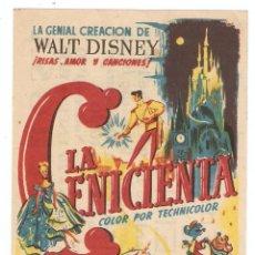Cine: LA CENICIENTA - WALT DISNEY - RKO RADIO FILMS. Lote 114149291
