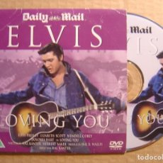 Cine: ELVIS - LOVING YOU - DVD PROMOCIONAL 2002 - DAILY MAIL. Lote 114203607