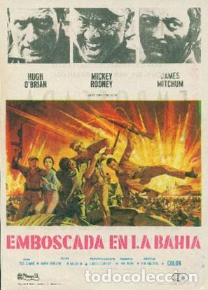 EMBOSCADA EN LA BAHÍA (CON PUBLICIDAD) (Cine - Folletos de Mano - Bélicas)