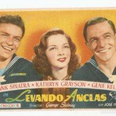 Cine: LEVANDO ANCLAS - FRANK SINATRA, KATHRYN GRAYSON, GENE KELLY - DIRECTOR GEORGE SIDNEY - MGM. Lote 114236903