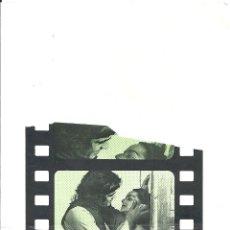 Flyers Publicitaires de films Anciens: EL LIBRO DE BUEN AMOR PROGRAMA DOBLE XII SEMANA DEL CINE ESPAÑOL MOLINS DE REI 1975 ANDION ESTRADA. Lote 114249995