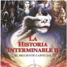 Cine: LA HISTORIA INTERMINABLE 2 EL SIGUIENTE CAPÍTULO PROGRAMA DESPLEGABLE FANTASIA. Lote 114285195