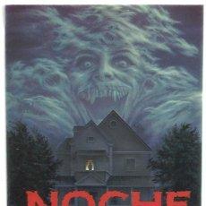 Cine: NOCHE DE MIEDO PROGRAMA TROQUELADO ADHESIVO TOM HOLLAND CHRIS SARANDON TERROR. Lote 114371451