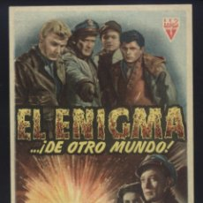 Cine: P-5099- EL ENIGMA DE OTRO MUNDO (THE THING FROM ANOTHER WORLD) KENNETH TOBEY - MARGARET SHERIDAN. Lote 114374690