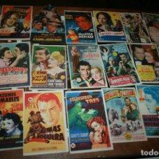 Cine: ALBACETE.LOTE DE 60 PROGRAMAS CINES DE HELLÍN AÑOS 40/50.TEATRO ESPAÑOL,VICTORIA Y CINEMA LEVANTE. Lote 114523915