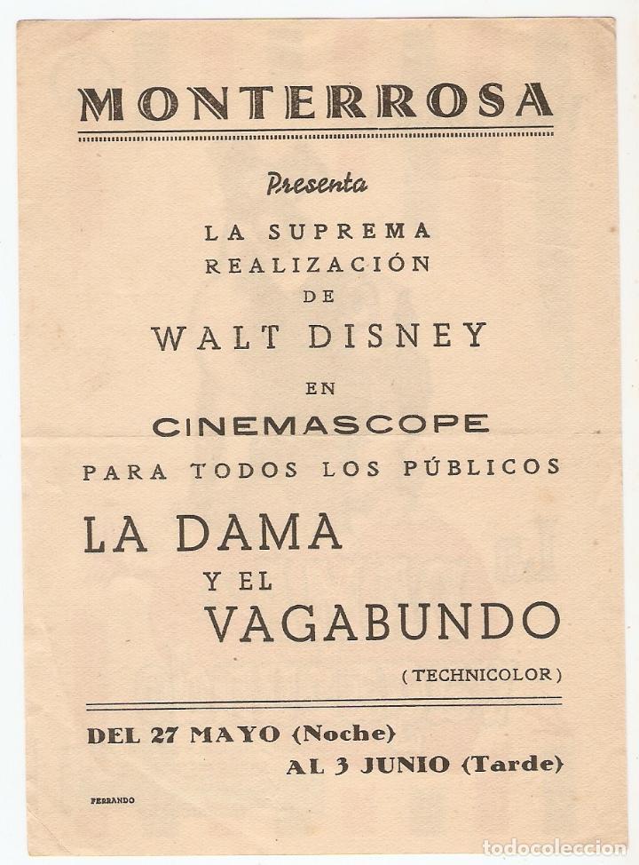 Cine: la dama y el vagabundo - walt disney - Foto 2 - 114610555