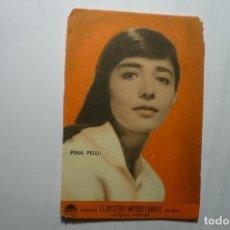 Cine: PROGRAMA EL ROSTRO IMPENETRABLE- PINA PELLICER. Lote 114783911