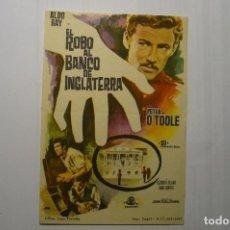 Cine: PROGRAMA EL ROBO AL BANCO DE INGLATERRA- PETER O´TOOLE. Lote 114784095