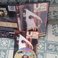 Flyers Publicitaires de films Anciens: DVD DE U2 RATTLE AND HUM. Lote 114789191