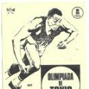 Cine: D OLIMPIADA DE TOKIO PROGRAMA SENCILLO LOCAL TOHO JUEGOS OLIMPICOS 1964. Lote 114878999