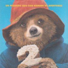 Cine: 9758 -PADDINGTON 2 FOLLETO DE MANO. Lote 114923027