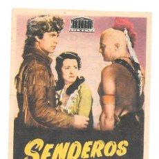 Cine: SENDEROS D E GUERRA CP. Lote 114923127