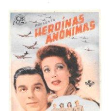 Cine: HEROINAS ANONIMAS SP. Lote 115007531