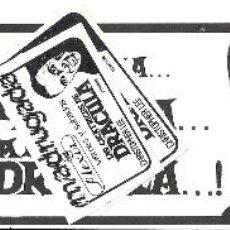 Cine: LAS CICATRICES DE DRACULA PROGRAMA CLICHE REY SORIA HAMMER CHRISTOPHER LEE. Lote 115019959