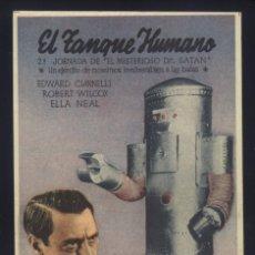 Cine: P-4806- EL MISTERIOSO DR. SATAN (MYSTERIOUS DOCTOR SATAN) (2ª JORNADA) TEATRO BERGIDUM - PONFERRADA. Lote 115261514