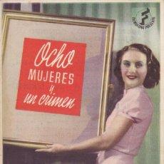 Cine: OCHO MUJERES Y UN CRIMEN CON BARBARA STANWYCK, HENRY FONDA AÑO 1944 EN CINEMA LA RAMBLA. Lote 115267267