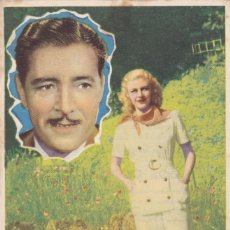 Cine: UNIDOS POR LA FORTUNA CON GINGER ROGERS, RONALD COLMAN AÑO 1944 EN CINEMAS LA RAMBLA Y PRINCIPAL. Lote 115268755