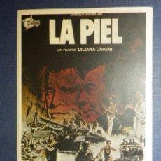 Cine: FOLLETO - PROGRAMA DE MANO - CINE - PELICULA - PROCESO A UNA ESTRELLA - SIN PUBLICIDAD - . Lote 115339899