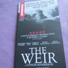 Cine: THE WEIR. Lote 115370315
