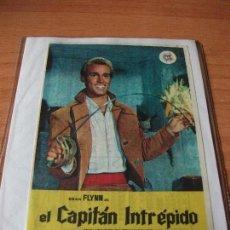 Cine: PROGRAMA DE MANO - CINE EL CAPITAN INTREPIDO 1967 PDELUXE. Lote 115403843