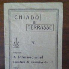 Cine: ANTIGUO PROGRAMA DE CINE DEL CHIADO TERRASSE, O MEU MENINO Y FÁTIMA, TERRA DE FÉ. PORTUGAL.. Lote 115462035