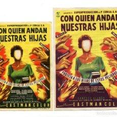 Cine: CON QUIEN ANDAN NUESTRAS HIJAS, CON YOLANDA VARELA.. Lote 115475839