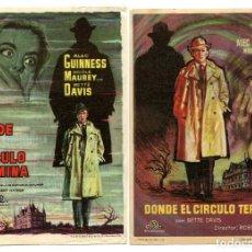 Cinema - DONDE EL CIRCULO TERMINA, con Bette Davis. - 115479803